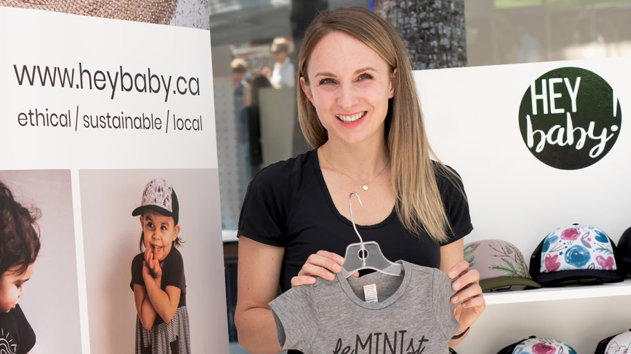 Share My Story Hey Baby Clothing owner Natalie