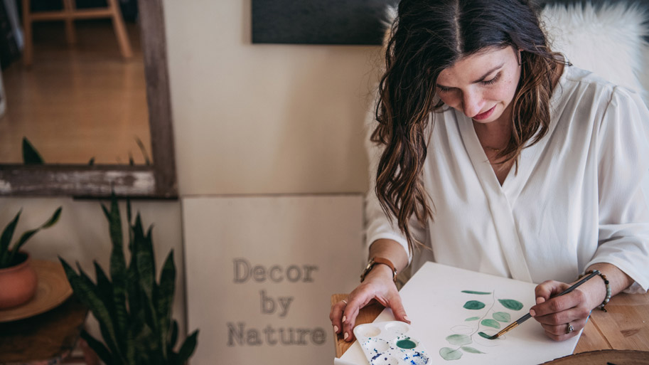 Share My Story Decor by Nature owner Melanie