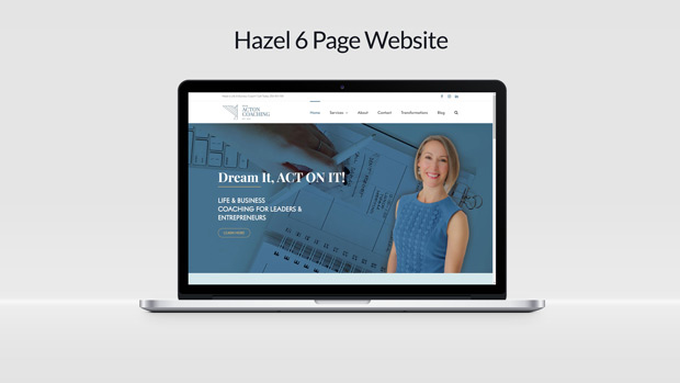 Custom Website Design Erin Acton Coaching
