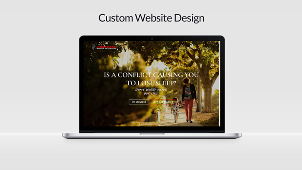 Custom Website Design Lori Frank Mediation
