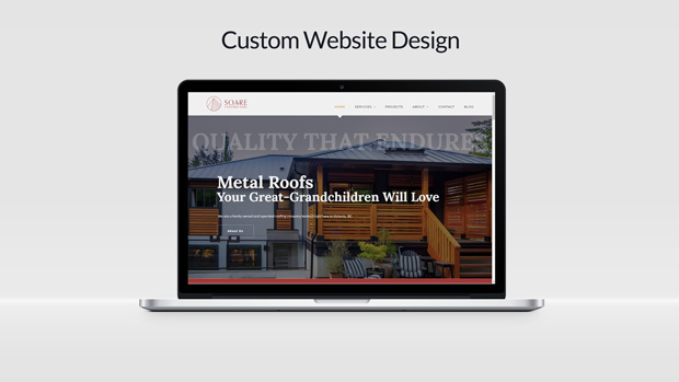 Custom Website Design Soare Contracting