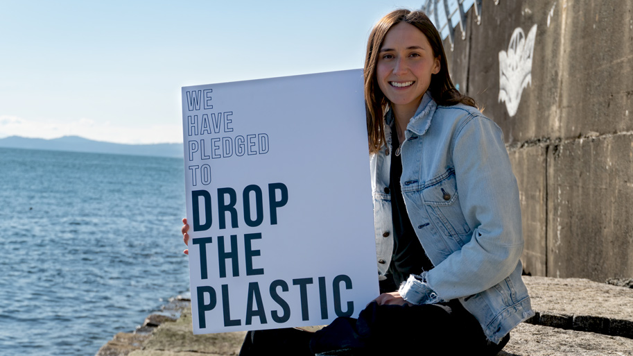 Share My Story Drop the Plastic founder Melissa Donich