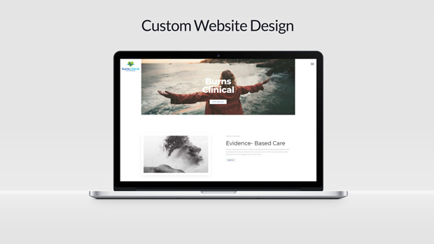 Custom Website Design Burns Clinical