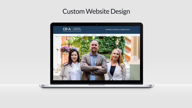 Custom Website Design C.Ralph & Associates